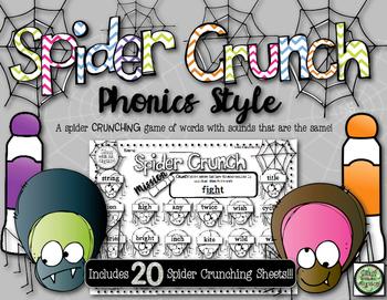 Phonics Spider Crunch!