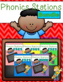 Phonics Stations BUNDLE!!