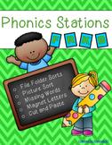 Phonics Stations: F, R, K, B (9th-12th consonants introduc