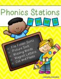Phonics Stations: P, N, M, S (5th-8th consonants introduce