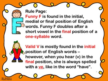 Phonics Lessons: 04 - Funny F and Valid V