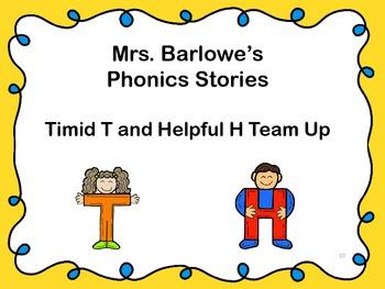 Phonics Lessons: 07 - Terrific T and Helpful H Team Up