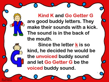 Phonics Lessons: 08 - Kind K and Go Getter G