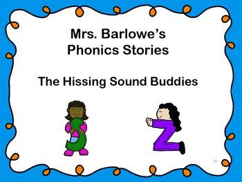 Phonics Lessons: 09 - The Hissing Sound Buddies