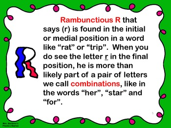 Phonics Lessons: 10 - Likable L and Rambunctious R