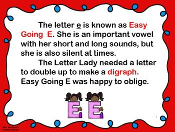 Phonics Lessons: 15 - Easy Going E Doubles Up