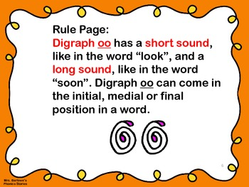Phonics Lessons: 18 - The Two Sounds of Digraph oo