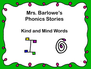 Phonics Lessons: 31 - Kind and Mind Words