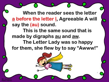 Phonics Lessons: 34 - A Special Situation For Likable L And Agreeable A