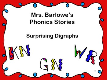 Phonics Lessons: 36 - Surprising Digraphs