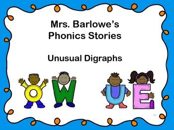 Phonics Lessons: 37 - Unusual  Digraphs