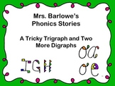 Phonics Lessons: 38 - A Tricky Trigraph and Two More Digraphs