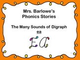 Phonics Lessons: 39 - The Many Sounds of Digraph ea