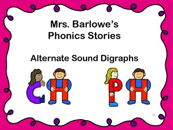 Phonics Lessons: 40 - Alternate Sound Digraphs