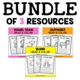 Phonics Stories Coloring Sheets Bundle