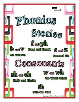 Phonics Stories: Consonants