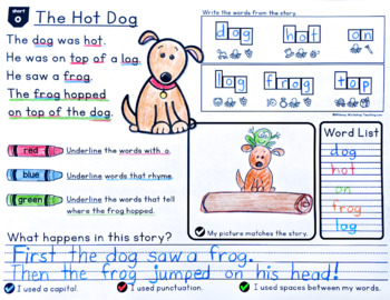 Phonics Stories Reading and Writing BUNDLE
