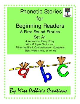 Phonics Stories Set A1