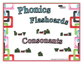 Phonics Story Flashcards: Consonants