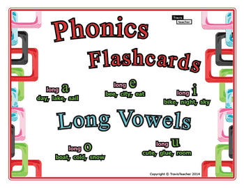 Phonics Story Flashcards: Long Vowels