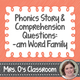 Phonics Story with Comprehension Questions Student Page (-