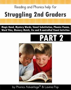 Phonics Strategies for Struggling 2nd Graders Part 2 Vcc and R-controlled vowels