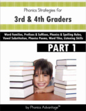 Phonics Strategies for Struggling 3rd & 4th Graders