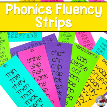 Phonics Rules Fluency Strips