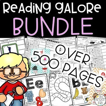 Reading Intervention BUNDLE 60+ Interactive Activities