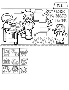 Phonics Tab Book Glued Sounds and Suffix S