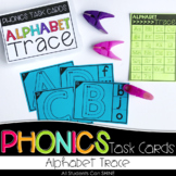 Phonics Task Cards - Alphabet Trace
