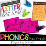 Phonics Task Cards - Beginning Sounds