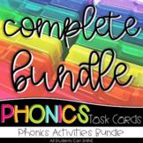 Phonics Task Cards - COMPLETE BUNDLE