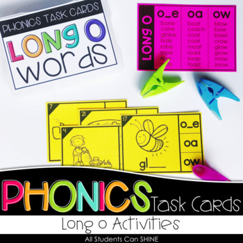 Phonics Task Cards - Long O