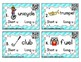 Phonics Task Cards: Short and Long U