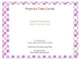Phonics Task Cards Vowel Dipthongs