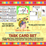 Phonics Task Cards for Reading / Remote Teaching with ANY