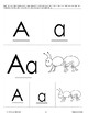 Phonics: The Letter A