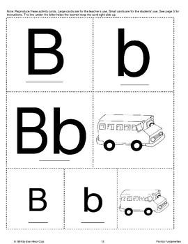 Phonics: The Letter B