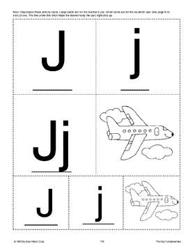 Phonics: The Letter J