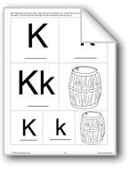 Phonics: The Letter K