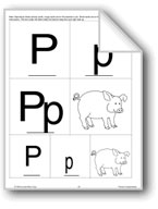 Phonics: The Letter P