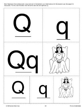 Phonics: The Letter Q