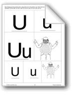Phonics: The Letter U