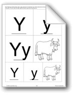 Phonics: The Letter Y