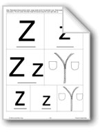 Phonics: The Letter Z