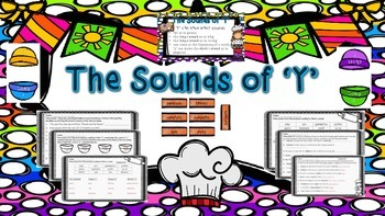 Phonics - The Sounds of Y