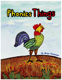 Phonics Things - Learning to read through poetry and word lists