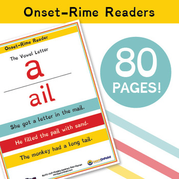 Phonics Things: Onset-Rime Readers