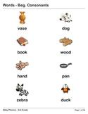 Phonics - Third Grade - Beginning Consonants Series